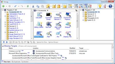 Smorg: Start Menu Organizer 1.1.1 screenshot