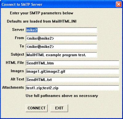 SMTP/POP3/IMAP Email Lib for dBase 8.1 screenshot
