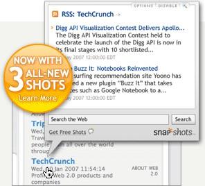 Snap Shots Add-On (for Firefox) 1.3.2 screenshot