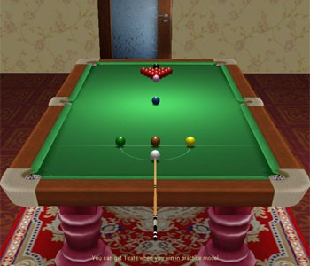 Snooker Game 2.9 screenshot