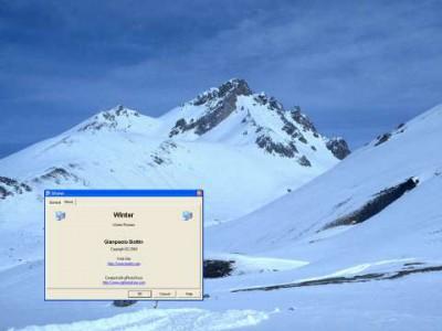 Snow of Winter Screen Saver 1.1 screenshot