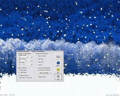 Snowflakes Screensaver 2.01.0505 screenshot
