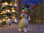 Snowmen 3D 1.0 screenshot