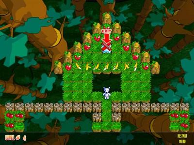 Snowy: Puzzle Islands 1.0 screenshot