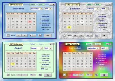 SNV Calendar Lite 1.0.1 screenshot