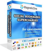 Social Bookmarks CRE Loaded Module 3.9.7 screenshot
