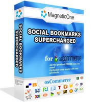 Social Bookmarks Supercharged - osCommerce Module 3.0 screenshot