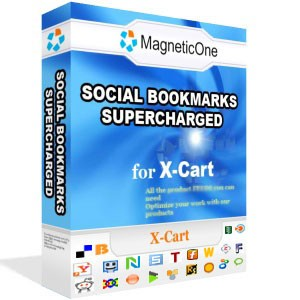 Social Bookmarks Supercharged - X-Cart Mod 3.1 screenshot