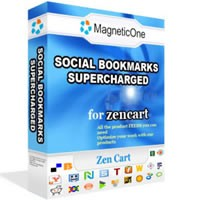 Social Bookmarks Supercharged - Zen Cart Module 2.0 screenshot