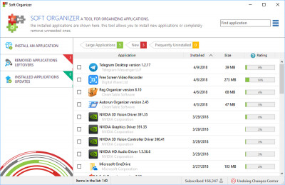 Soft Organizer 7.15 screenshot