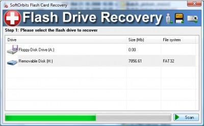 SoftOrbits Flash Recovery 2.0.2.43 screenshot