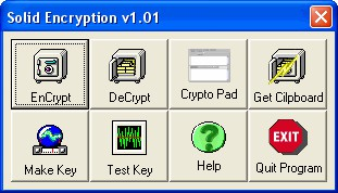 Solid Encryption 1.21 screenshot