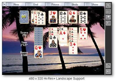 Solitaire City for Palm OS 1.02 screenshot