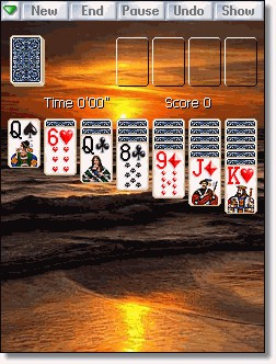 Solitaire City for Pocket PC 3.00 screenshot