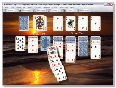 Solitaire City for Windows 4.01 screenshot