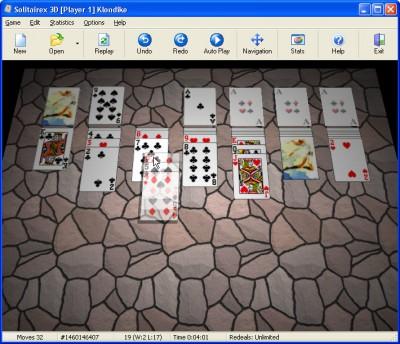 Solitairex 3D 1.0.1 screenshot