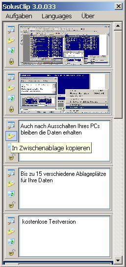 Solus Clip 3.0 screenshot