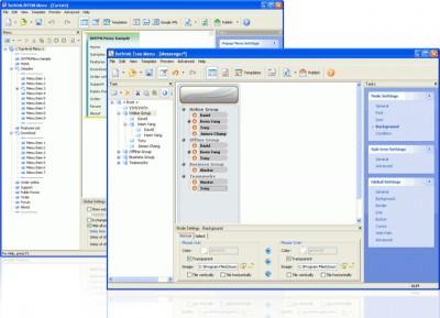Sothink DHTML Menu Suite 5.5 screenshot