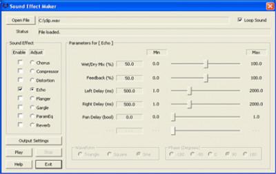 Sound Effect Maker 1.2.0.4 screenshot