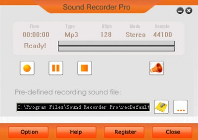 Sound Recorder Pro 2.1.3.3 screenshot