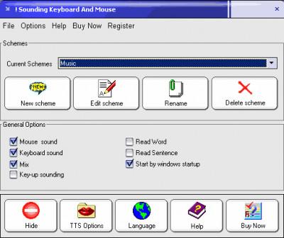 Sounding Keyboard and Mouse 6.1734 screenshot