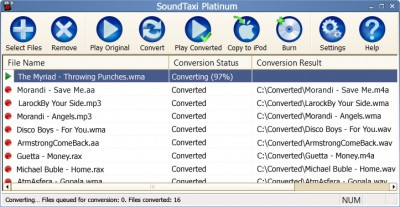SoundTaxi Platinum 4.3.8 screenshot