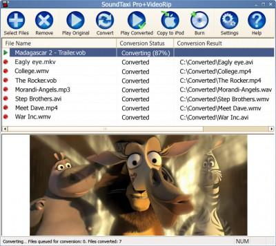 SoundTaxi Pro+Video Rip 4.3.8 screenshot