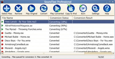 SoundTaxi Professional 4.3.8 screenshot