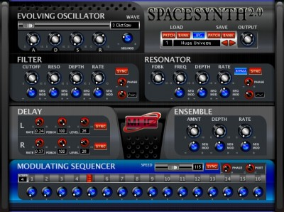 Space Synthesizer 2.0.3 screenshot