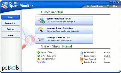 Spam Monitor 4.0 screenshot