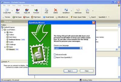 SpamBully 4.4.0.53 screenshot