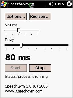SpeechGym Mobile 1.0 screenshot