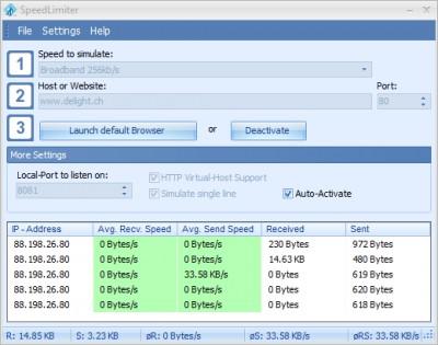 Speed Limiter 2.0 screenshot