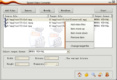 Speed Video Converter 4.4.45 screenshot