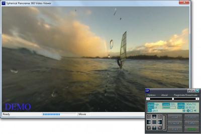 Spherical Panorama 360 Video Viewer 5.51 screenshot
