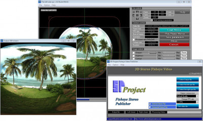 Spherical Panorama 3D Video Publisher 2.049.01 screenshot