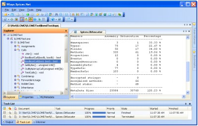 Spices.Net Obfuscator 5.9.0.0 screenshot