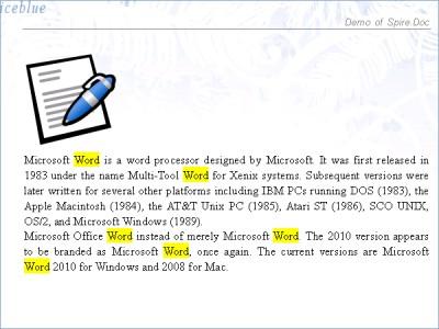 Spire.Doc for Silverlight 4.5.16 screenshot