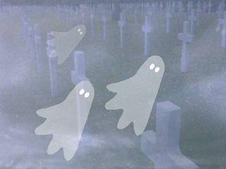 Spooky Graveyard Halloween Wallpaper 2.0 screenshot
