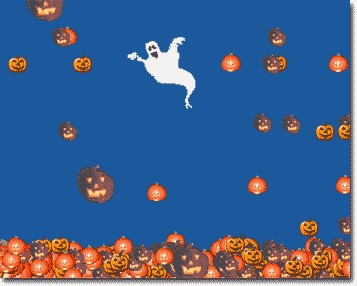 Spooky Pumpkins Screen Saver 1.0 screenshot