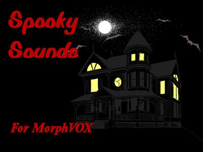 Spooky Sounds - MorphVOX Add-on 2.1.1 screenshot