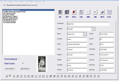Sports Card Collector 5.1.1 screenshot