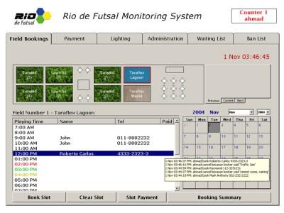 SportsQ Booking Manager 2.2.3 screenshot