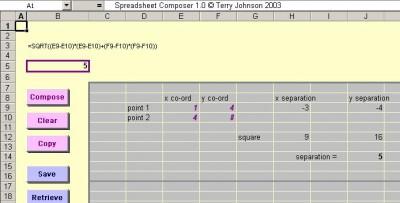 Spreadsheet Composer 2.0 screenshot