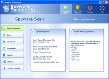 Spyware Terminator 2.2.0 screenshot