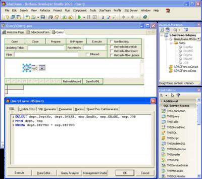 SQL Server Data Access Components 9.1 screenshot