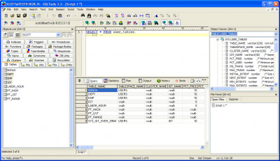 SQLTools 1.8 build screenshot
