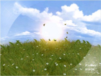 SS Butterflies - Animated Desktop ScreenSaver 3.1 screenshot