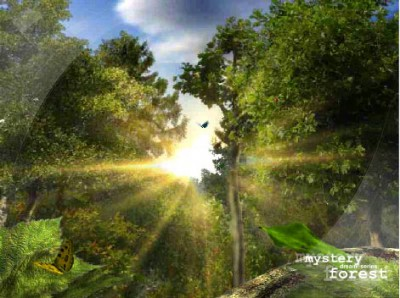 SS Mystery Forest - Animated Desktop Screensaver 3.1 screenshot