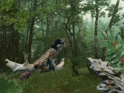 SS Three Bears - Animated Desktop Screensaver 3.1 screenshot